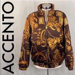 👑 ACCENTO ITALIAN LUXURY JACKET 💯AUTHENTIC